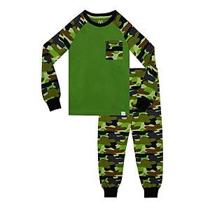 Harry Bear Boys Camouflage Pyjamas