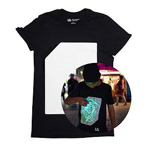 Illuminated Interactive Glow in The Dark T-Shirt