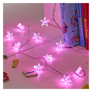 Indoor Star Fairy Lights