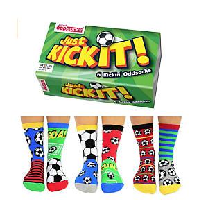 Just Kickit Oddsocks Box X 6