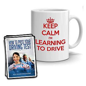 Keep Calm I'm Learning to Drive Mug