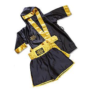 Kids Boxing Short & Gown Set