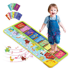 Kids Piano Mat with 25 Sounds