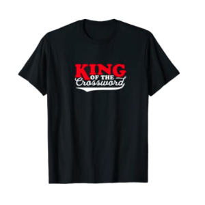 King of the Crossword T Shirt