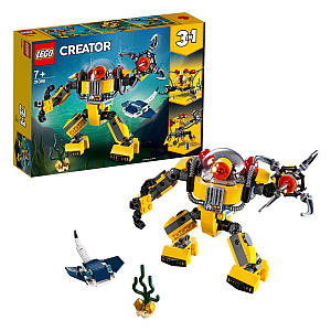 LEGO 3 in 1 Underwater Robot Crane and Submarine