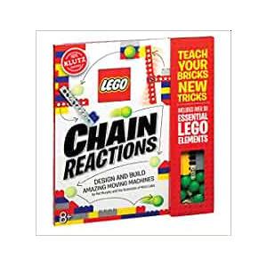 Lego Chain Reactions Spiral-bound Book