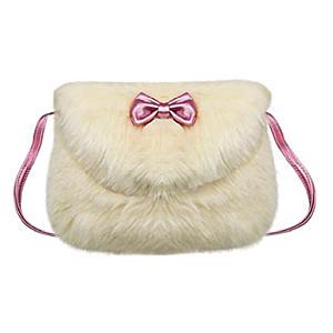 Little Girls Fluffy Wallet Bag