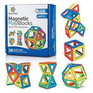 Magnetic Building Blocks Set
