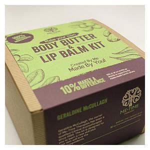 Make Your Own Body Butter & Lip Balm Kit