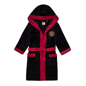 Manchester United FC Fleece Dressing Gown