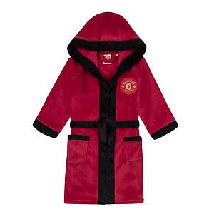 Manchester United FC Hooded Dressing Gown