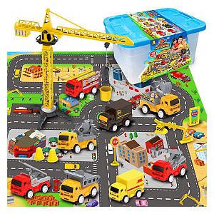 Mini Fire Engine, Construction Play Set