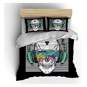 Music Skull Bedding Set