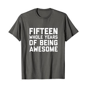 Novelty Awesome Being 15 T Shirt