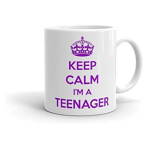 Novelty I'm a Teenager Mug