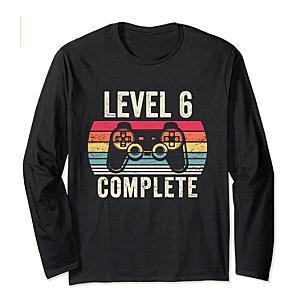 Novelty Level 6 Long Sleeve T Shirt