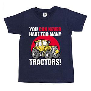 Novelty Tractor T Shirt