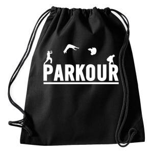 Parkour Gym Drawstring Bag