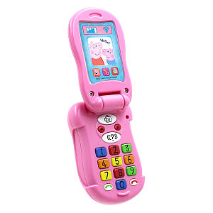 Peppa Pig Flip and Learn Phone Toy