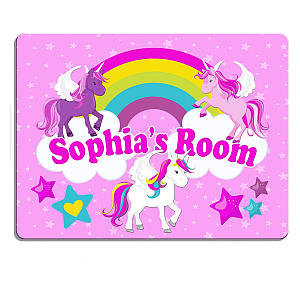 Personalised Children's Bedroom Door Sign