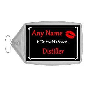 Personalised Distiller Key Ring