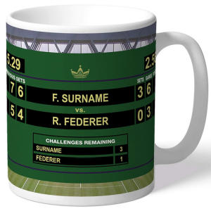 Personalised Men's Tennis Mug