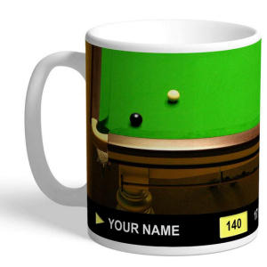 Personalised Snooker Mug
