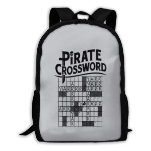 Pirate Crossword Backpack