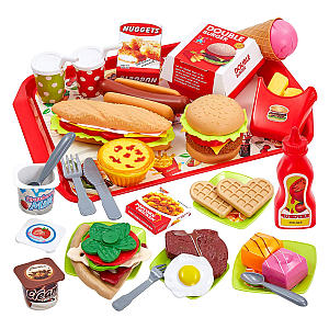 Play Toy Food Set