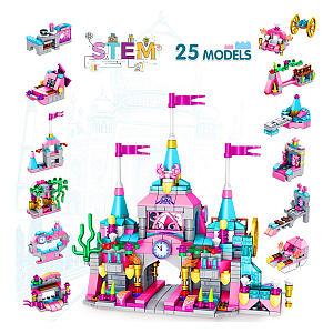 Princess Castle Building Block Set