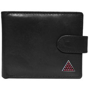 Black Leather Snooker Wallet