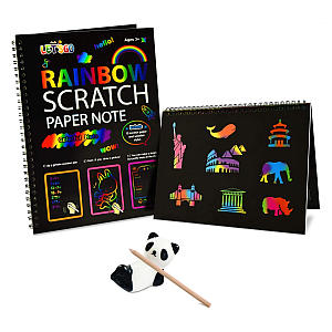 Rainbow Scratch Art Set