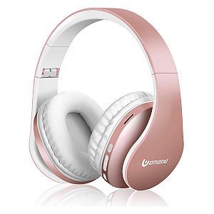 Rose Gold Wireless Over Ear Headphones