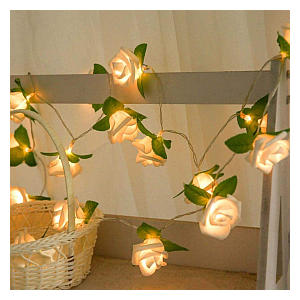 Rose LED Window Curtain Lights
