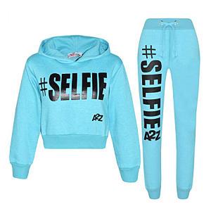 Selfie Print Fleece Jogging Suit