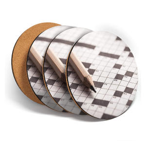 Set Of 4 Crossword Coasters