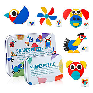 Shapes Puzzle - Wooden Jigsaw
