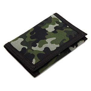 Slim Camouflage Wallet