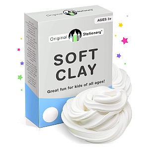 Soft Clay for Slime Making