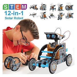Solar Robot 12-in-1 Educational Science Kit