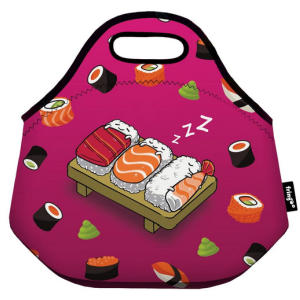Sushi Pattern Thermal Insulated Lunch Bag