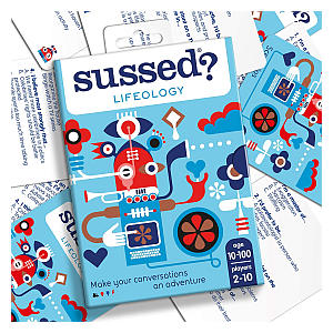 Sussed Lifeology Hilarious Card Game