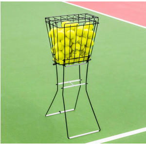 Vermont Tennis Ball Basket & Hopper