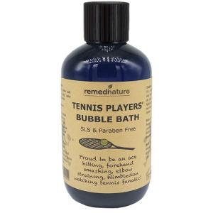 Tennis Players Bubble Bath