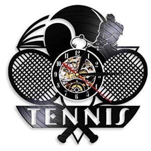 Tennis Racket Wall Clock