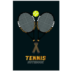 Tennis Notebook Journal