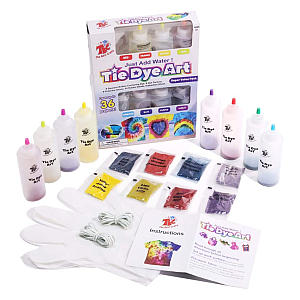 The Best Crafts 8 Colours Tie Dye Kit