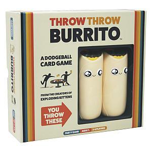 Throw Throw Burrito - Dodgeball Card Game