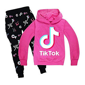TiK Tok Hoodies Pants Set