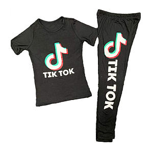 Tik Tok Print Gymwear
